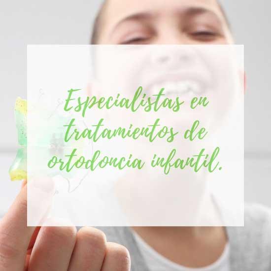 Ortodoncista especialista en ortodoncia para niños.