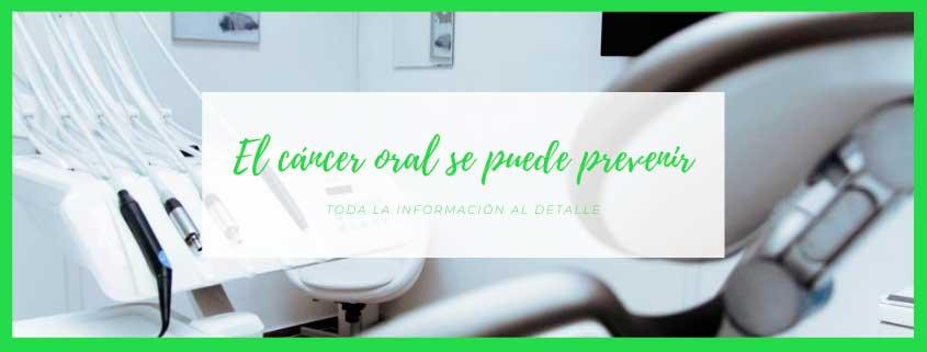 Cáncer oral, síntomas y prevención